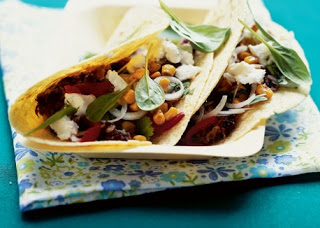 Black Bean and Toasted Corn Tacos